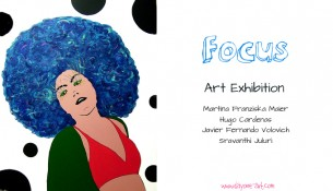 """Focus"" art exhibition opening"