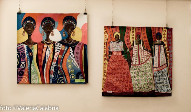 Two paintings from africa.