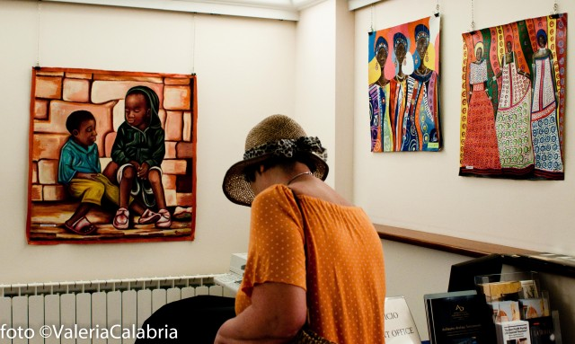 African contemporary art with Solid Rock Association.